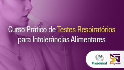 Curso Prático de Testes Respiratórios para Intolerâncias Alimentares