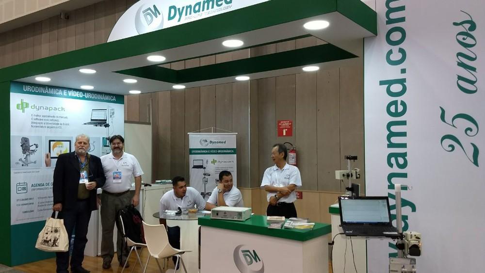 Dynamed Marca Presença no Congresso Brasileiro de Urologia