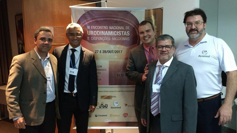 Dr. Átila Rondon, Dr. Ailton Fernandes, Dr. João Antônio, Dr. Carlos Souza e Manoel Soares