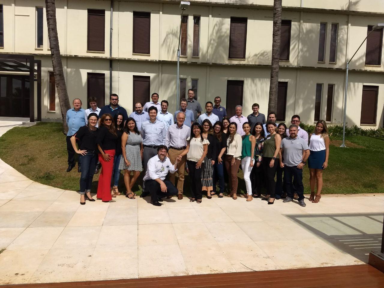 Participantes do curso.