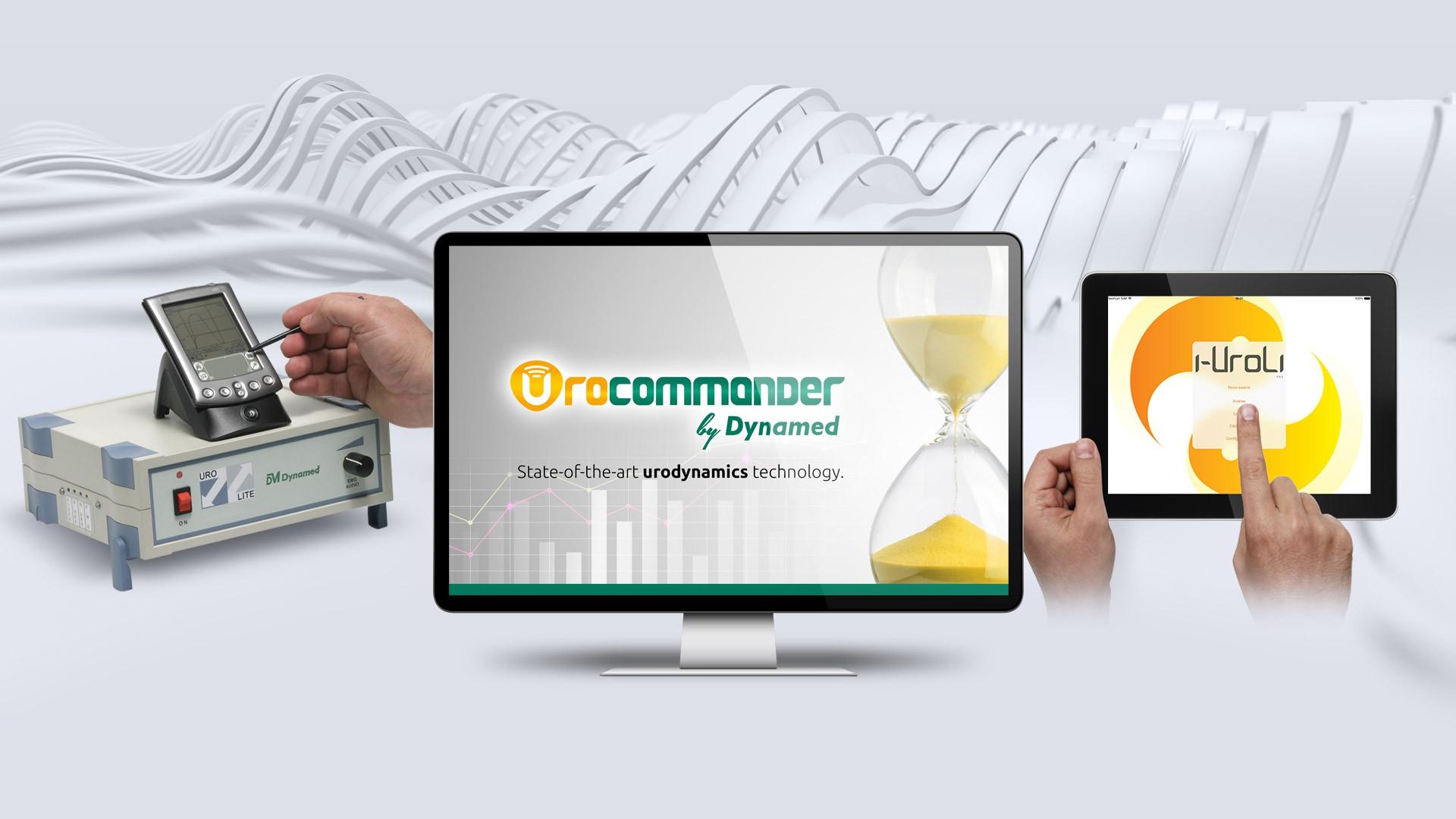 Chegou o Urocommander, o mais avançado software para Urodinâmica