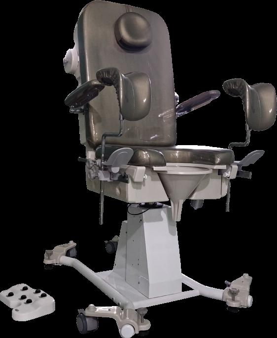 Easy Chair: Cadeira automatizada para UroGinecologia e Urodinâmica.