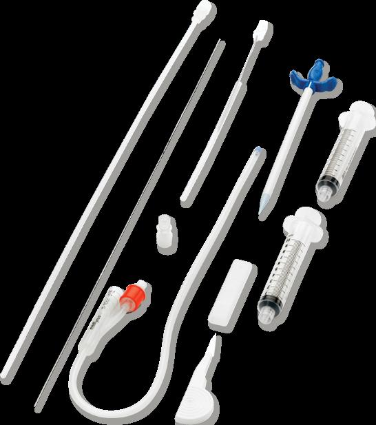 Sistema S-CathTM para Cistomia Suprapúbica.