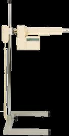 Extrator de cateteres: O Maxtrat possui dispositivo para tracionar cateteres de forma contínua (Pull Through), com velocidade conhecida e controlada através de moderno sistema remoto, permitindo estudos tridimensionais com precisão.  Silencioso e muito resistente, com pedestal em aço inox, que permite a regulagem da altura. O sistema também pode ser controlado via software.